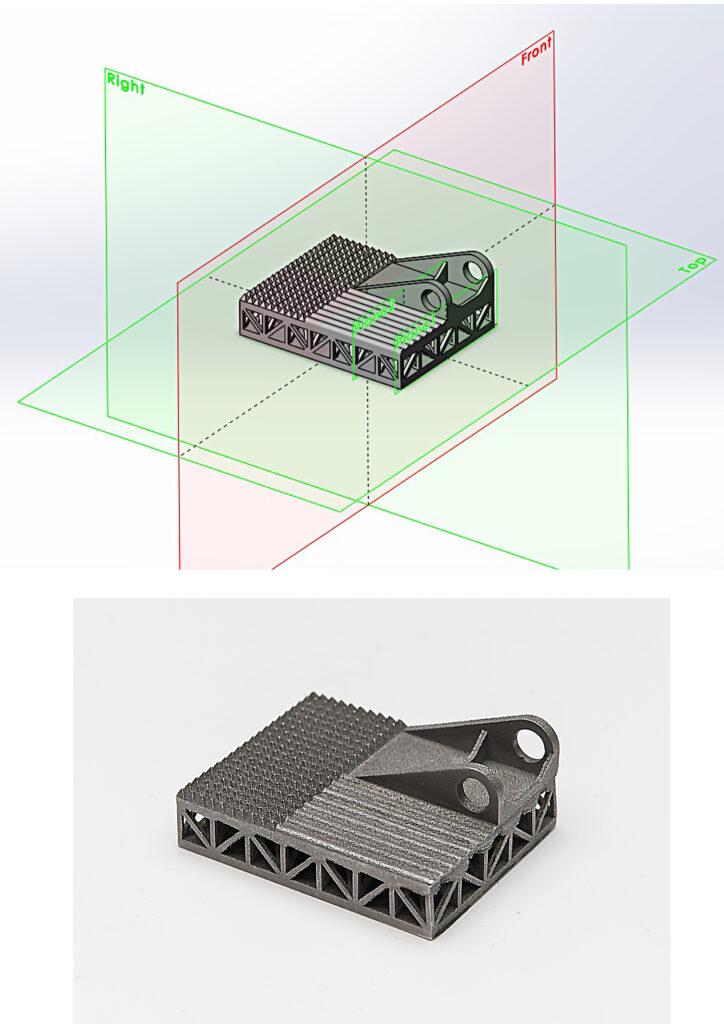 Digitalización de almacenes e impresión 3D