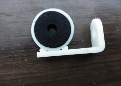 Arandela con goma Impresión 3D