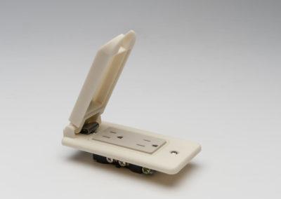 Enchufe con tapa Impresión 3D