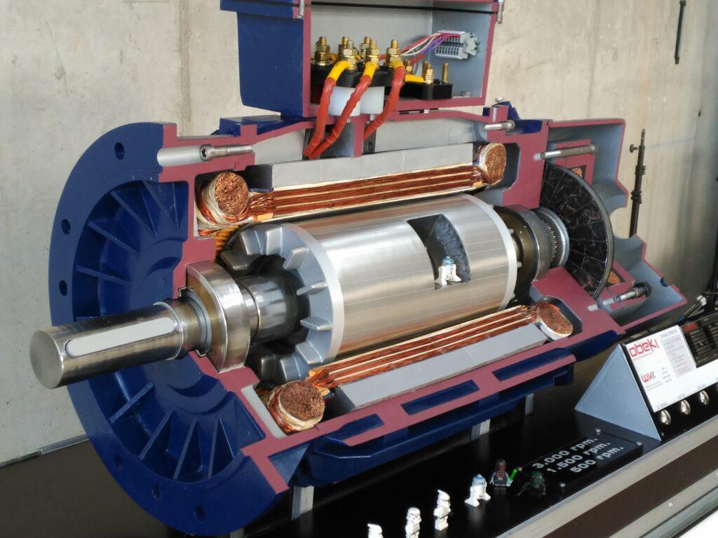 Impresión 3d maqueta maquinaria feria